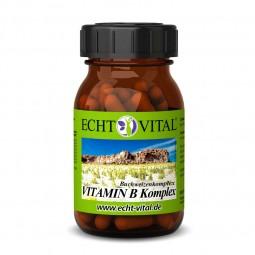 ECHT VITAL VITAMIN B KOMPLEX - 1 Glas mit 60 Kapseln
