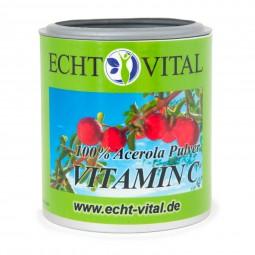 ECHT VITAL VITAMIN C - 1 Dose mit 100 g Pulver