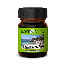 ECHT VITAL Astaxanthin vegan - 1 Glas mit 90 Kapseln