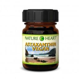 NATURE HEART Astaxanthin vegan - 1 Glas mit 90 Kapseln