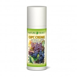 NATURE HEART OPC CREME (ohne Parfüm) + Hyaluron + Q10 - 1 Dispenser mit 50 ml