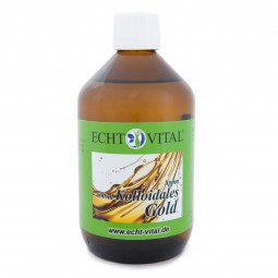 ECHT VITAL KOLLOIDALES GOLD 8 ppm - 1 Flasche mit 500 ml
