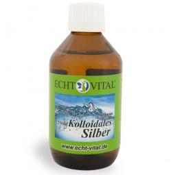 ECHT VITAL KOLLOIDALES SILBER 10 ppm - 1 Flasche mit 250 ml