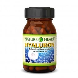NATURE HEART Hyaluron - 1 Glas mit 60 Kapseln