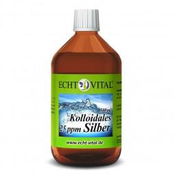 ECHT VITAL KOLLOIDALES SILBER 25 ppm - 1 Flasche mit 500 ml