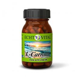 ECHT VITAL L-CARNITIN - 1 Glas mit 60 Kapseln